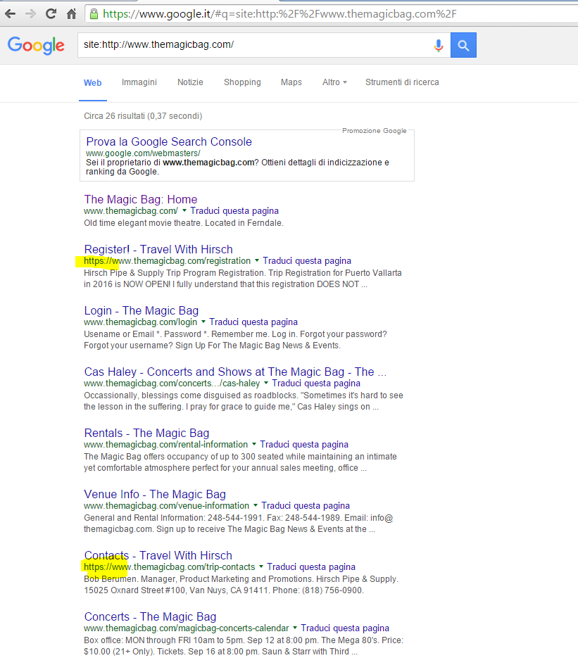 Re:Google Indexing Tester Shows Two Domains - Post #3207